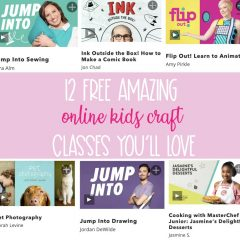 12 Free Online Kids Craft Classes