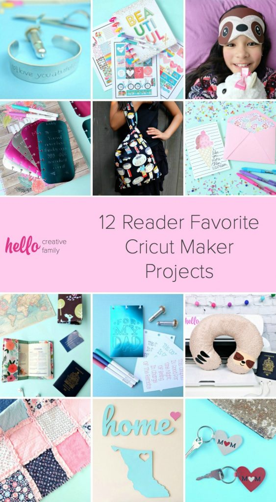 Get a whole year's worth of Cricut Maker project inspiration with these awesome craft ideas! Explore using Cricut's different Adaptive Tools that work with the Cricut Maker. Includes how to engrave with your Cricut, how to quilt with your Cricut and a ton of handmade Cricut gift ideas! #Sponsored #CricutCreated #CricutMade #CricutCrafts #Cricut #Crafts #Handmade