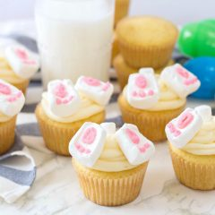 Easter Bunny Butt Cupcakes Recipe