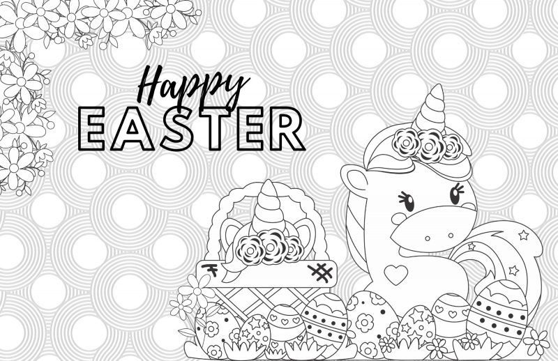 Easter Coloring Pages for Kids - Crazy Little Projects | 518x800