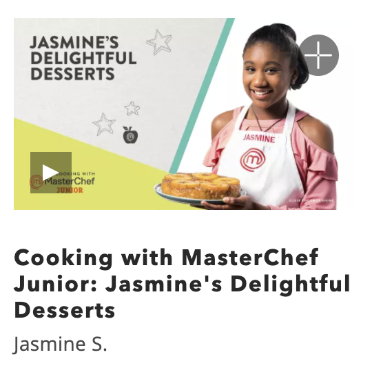 Kids Online Cooking Class