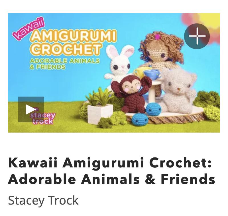 Online Amigurumi Crochet Class