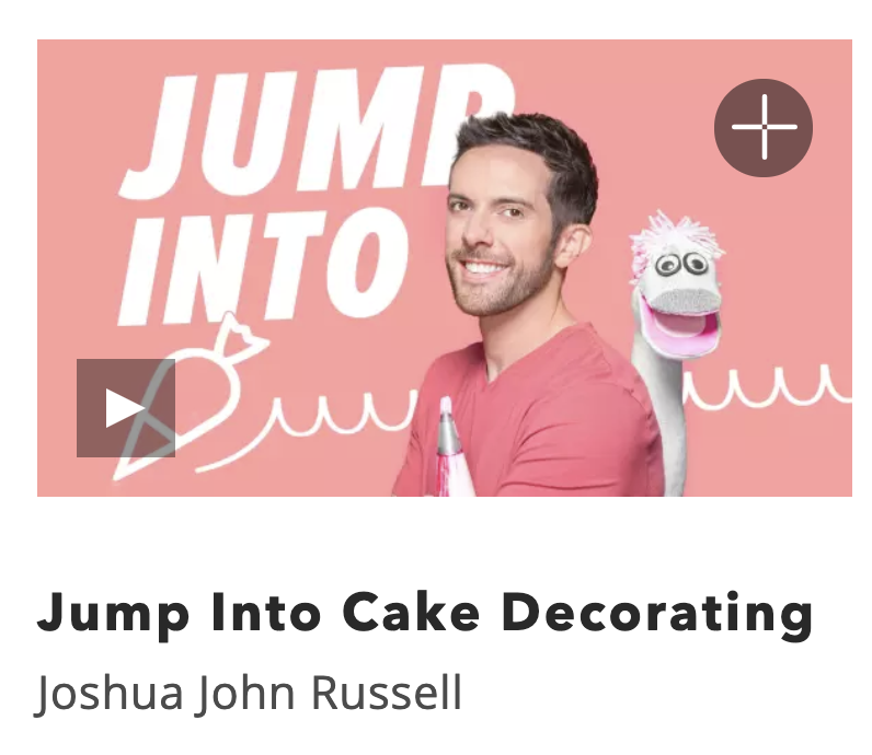 Kids Online Cake Decorating Class