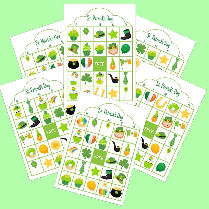 Let the St. Patty's Day fun begin with our free St. Patrick's Day Bingo printable! Perfect for classrooms, parties or fun with your kids! #Printables #StPatricksDay #Green