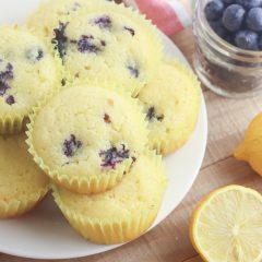 Gluten Free Lemon Blueberry Muffin Recipe