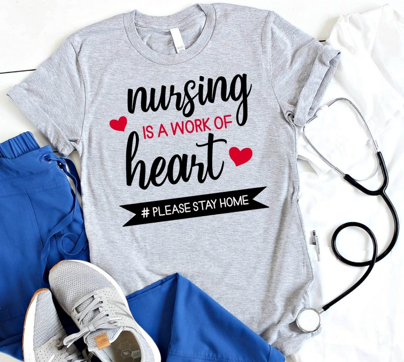 Celebrate healthcare professionals and all they do with 16 free frontline workers svg files including cut files for nurses, doctors and more! Like our Nursing Is A Work of Heart SVG and Doctoring Is A Work of Heart Cut File. Make incredible handmade gifts for the nurses and doctors in your life using your Cricut Maker, Cricut Explore or Silhouette Cameo. #FrontlineWorkers #SVGFiles #CutFiles #FreeSVG #HealthcareAppreciation #CricutCreated #CricutMade #SilhouetteCameo