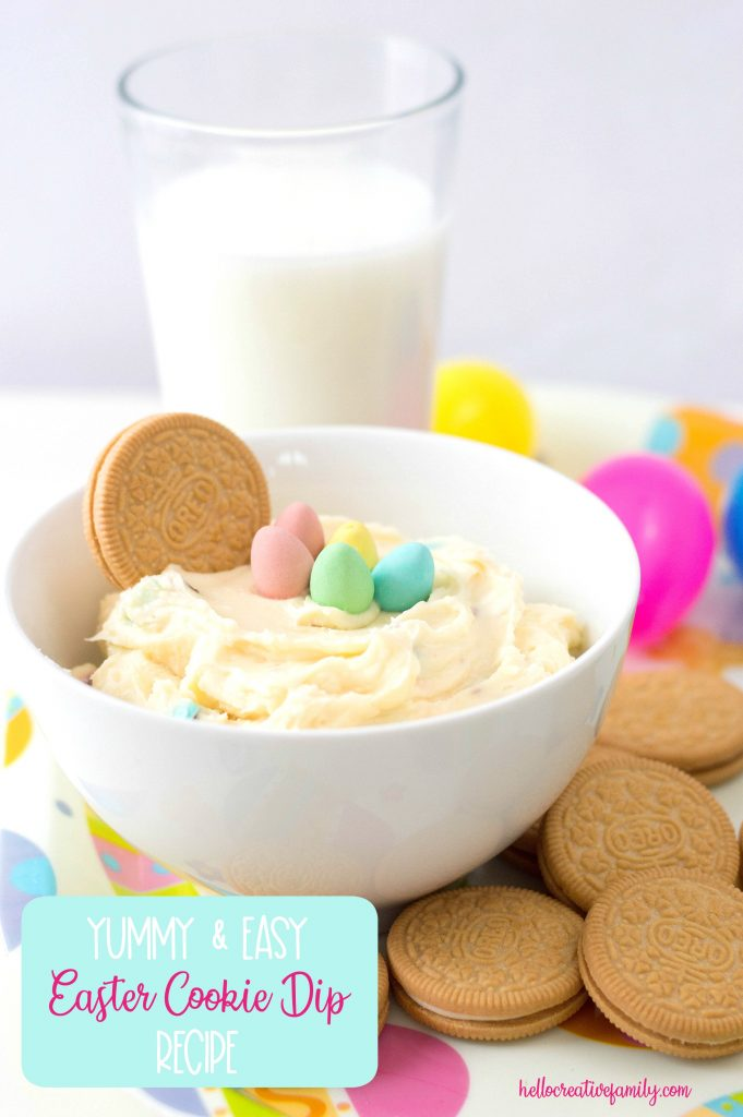 Easter Dessert Cookie Dip Recipe Hello Creative Family