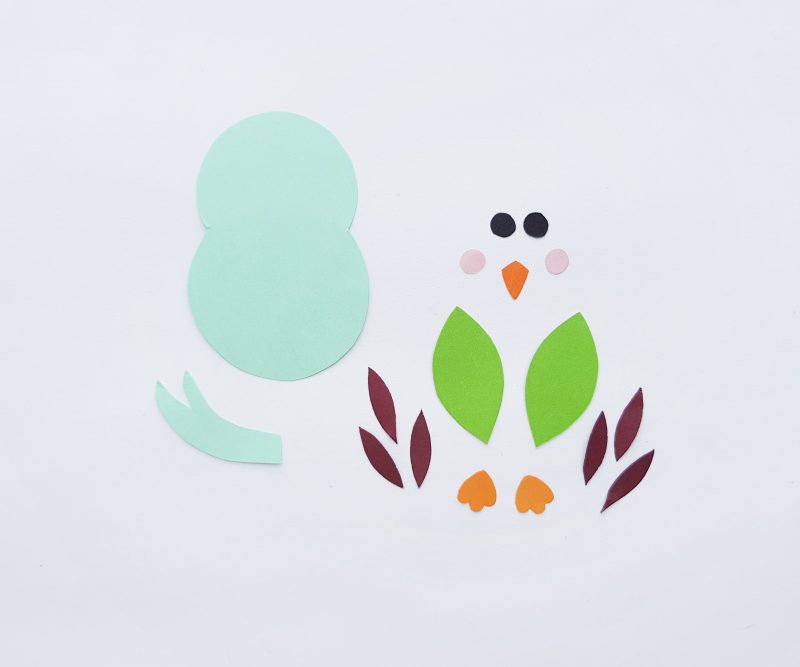 Spring Bird Bookmark Step By Step Instructions