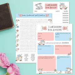 Free Reading Printables- Book Tracker, Novel Study Questions and More