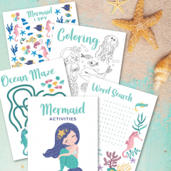 Mermaid Activities- Free PrintableDownload
