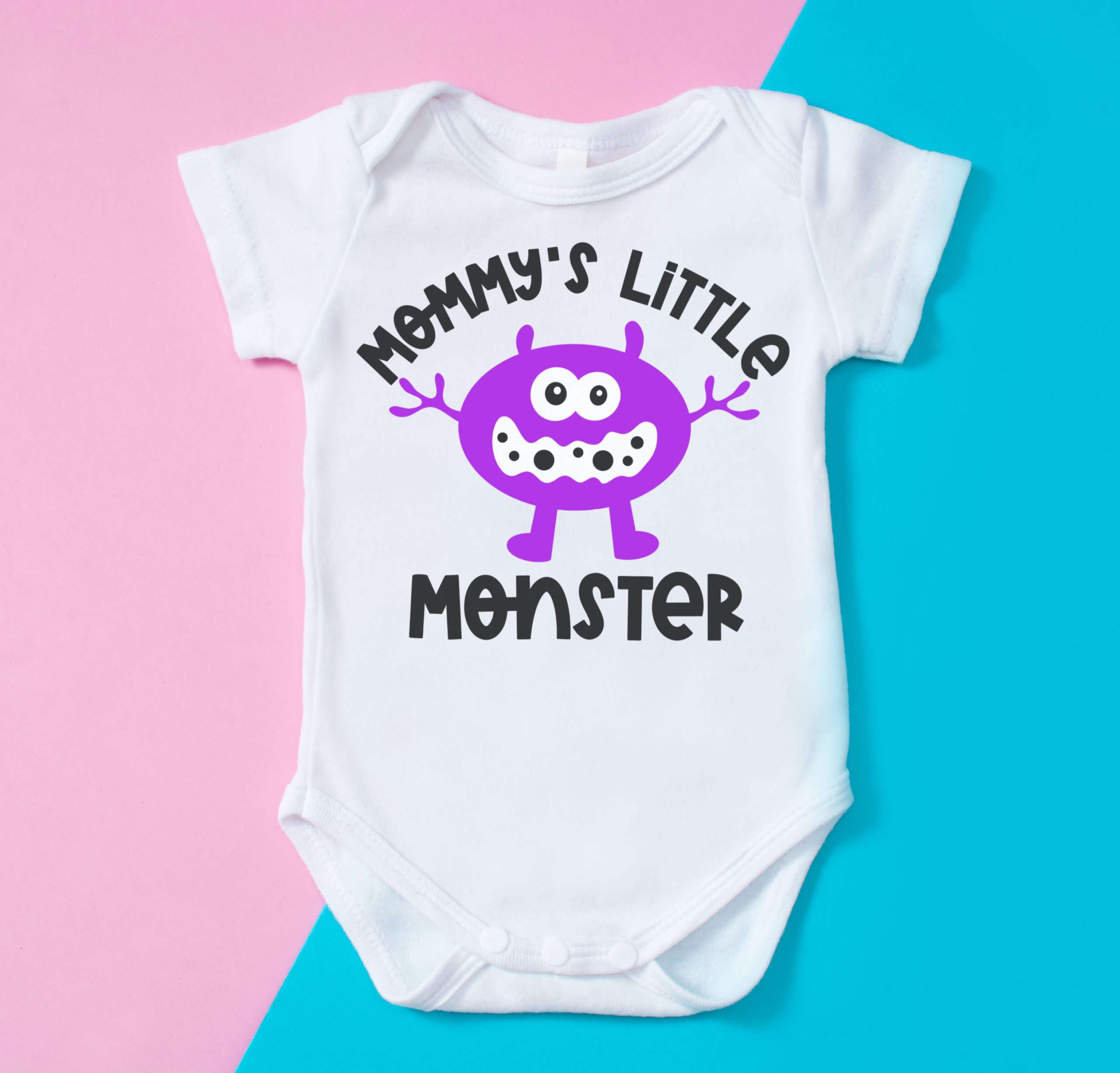 Mommy and Me SVG Mothers Day SVG Cut Files for Cricut Gift for First Mom Just A Mama in Love with her Boy Design for T Shirt and Onesie