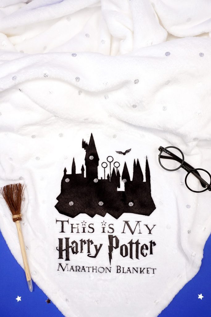 Harry Potter Marathon Blanket from Happiness Is Homemade