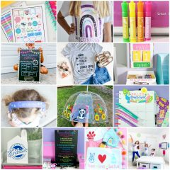 13 Homeschool Supply Ideas You Can Make With Your Cricut