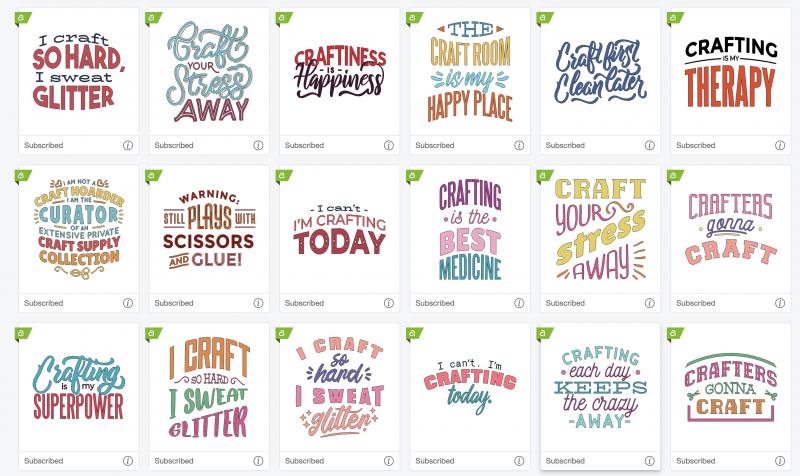 Cricut craft quotes