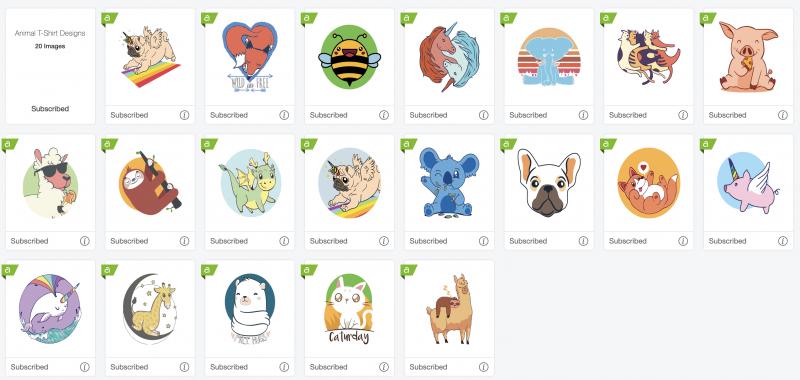 Cricut Access Animal Designs