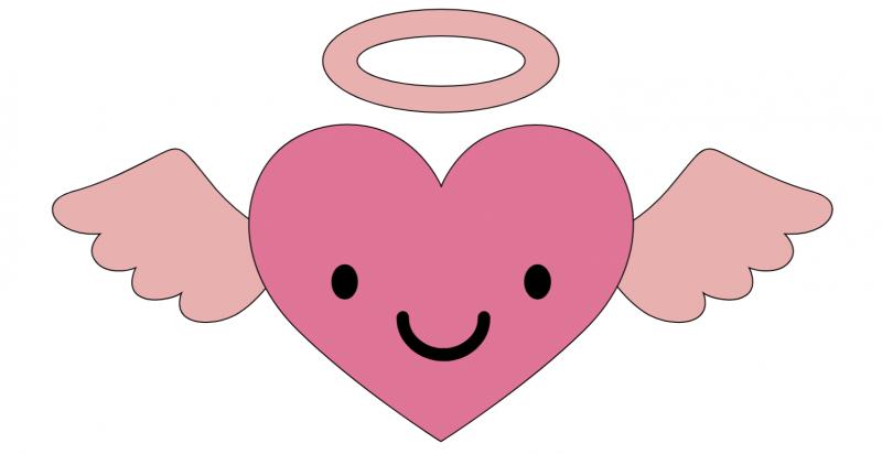Cricut Access Angel Heart