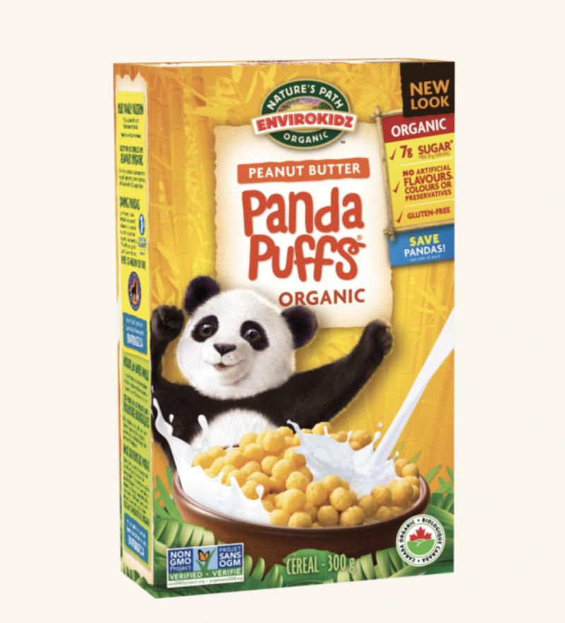 Panda Puffs Cereal from EnviroKidz