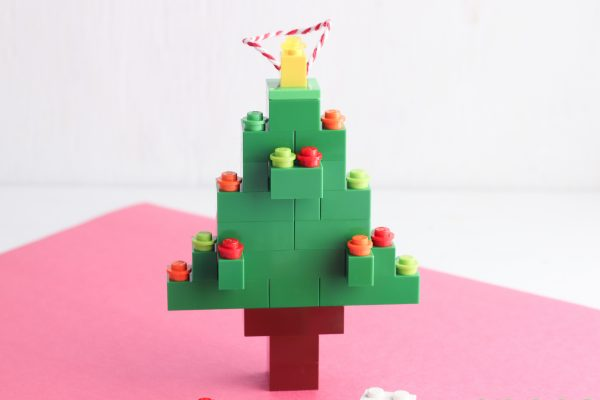 Enjoy your new Lego Christmas Tree Ornament!