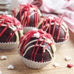 Looking for a unique handmade wedding favor idea? This heart hot chocolate bomb recipe makes a beautiful one of a kind gift that the recipient will love! Also wonderful for anniversary gifts and Valentine gifts for chocolate lovers!