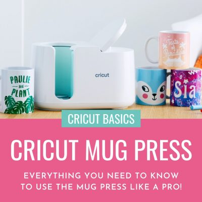 Curious about the Cricut Mug Press? We're sharing Everything You Need To Know For How To Use The Cricut Mug Press from free design ideas, to step-by-step instructions for creating your first mug, to what kinds of mugs you can use with your Cricut Mug Press! You won't want to miss this info packed article!
