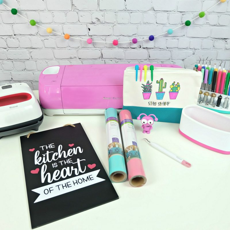 Cricut Explore Air 2 with HTV projects