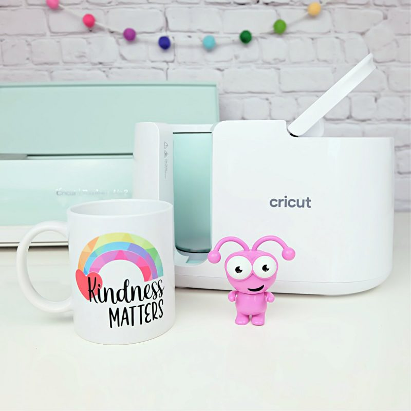 Kindness Matters Mug made with the Cricut Easy Press