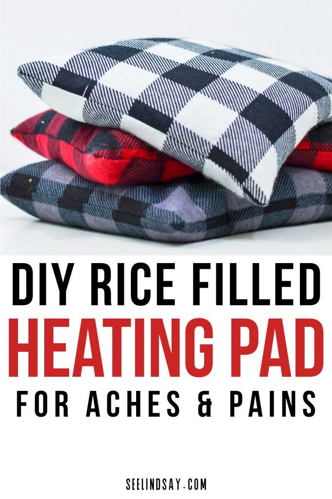 Cricut Made Rice Bag Heating Pad