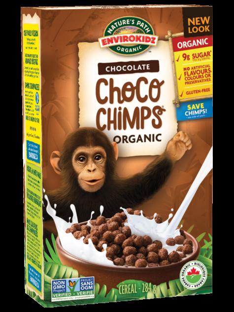 EnviroKidz Choco Chimps