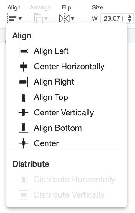 Align Button