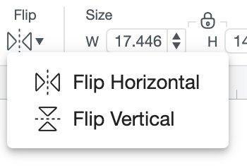 Flip button