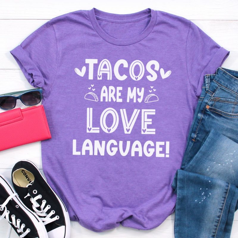 If you LOVE tacos (like I do) than you have definitely come to the right place! Get ready for some tasty Cricut crafting fun with these 14 free summer SVG files including Feed Me Tacos And Tell Me I'm Pretty! Because isn't that what every taco loving gal wants? Easy to use for DIY t-shirts, tank tops, mugs, beach bags and more! So much fun for making handmade gifts for taco lovers!