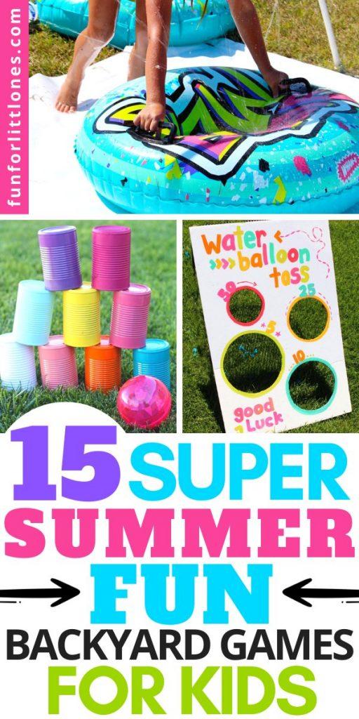 Summer Fun Backyard Games