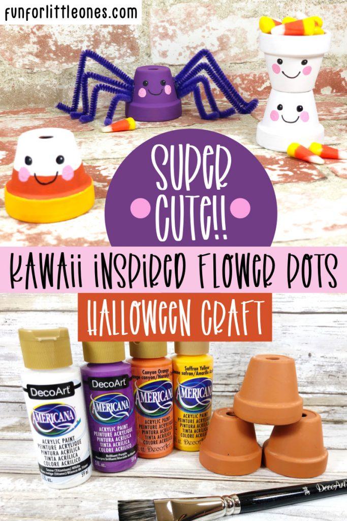 Halloween Kawaii Flowerpots