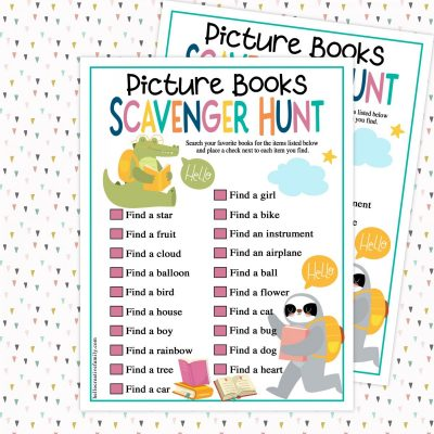 Parents, elementary school teachers and young readers alike are going to love this free picture book scavenger hunt printable! Get kids diving into their favorite books and hunting the pages for animals, modes of transportation, household objects and more with this fun, engaging and colorful free printable. Also includes tips for raising a reader from a former children's book publicist!