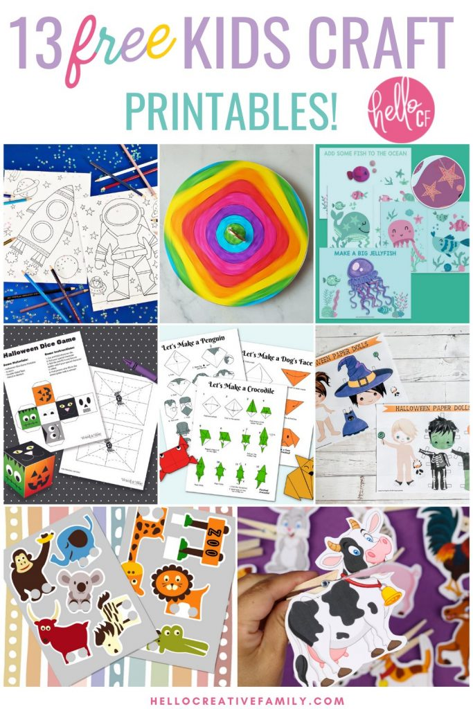 Looking for some great rainy day activities? We've got you covered with 8 printable crafts for kids including ocean sewing cards and printable play dough mats that you can laminate. Perfect for indoor activities for creative kids!